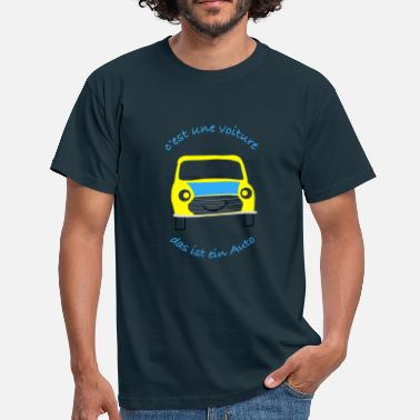 Car Culture Car in French - Men's T-Shirt