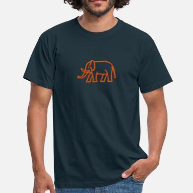 Ivory elephant - Men's T-Shirt