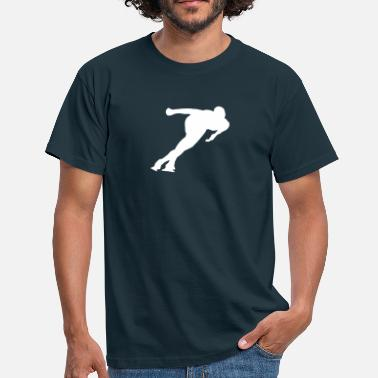 Speed speed skating - T-shirt Homme