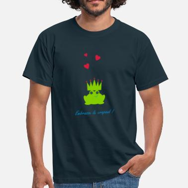 Crapaud embrasse le crapaud princesse valentin  - T-shirt Homme