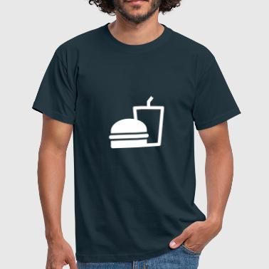 Soda Burger Soda - T-shirt Homme