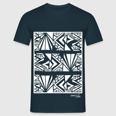 Tribal Pattern White - Men's T-Shirt