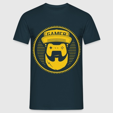 T-Shirt-Design-gamer - Männer T-Shirt
