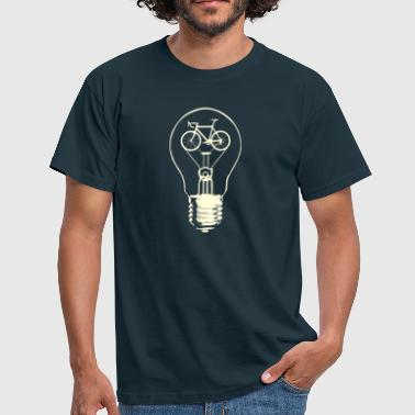 Biking,a good idea! - Männer T-Shirt