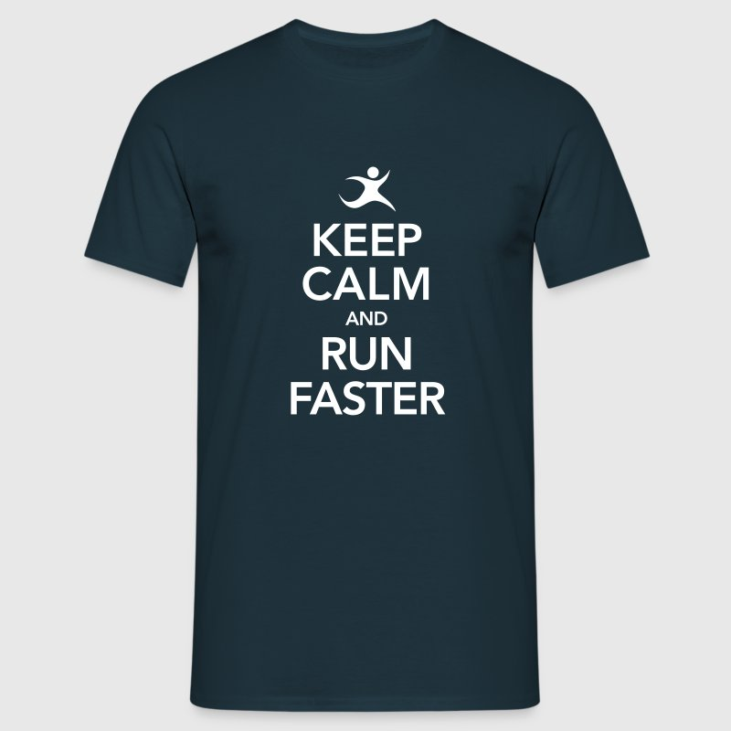 Keep Calm And Run Faster - T-shirt Homme