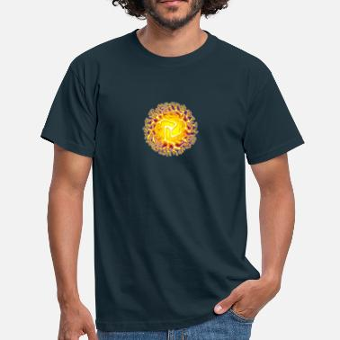Gong Chi Ball, Reiki, Chakra, Energy, Tai Chi - Men's T-Shirt