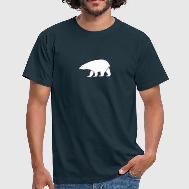 Snow polar bear - Men's T-Shirt