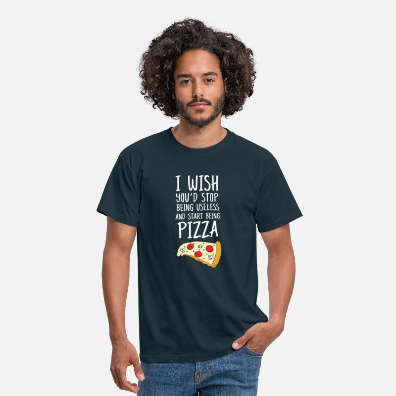 Chef T-Shirts - I Wish You'd Stop Being Useless... - Men's T-Shirt navy