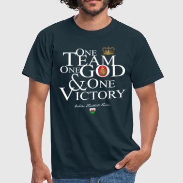 One Team One God Wales - T-shirt Homme