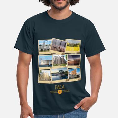 b4f9d92aea3 Provence Alpes Côte d  39 Azur PACA Polaroids - T-shirt Homme