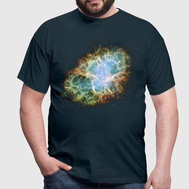 Space - The Crab Nebula  - Men's T-Shirt