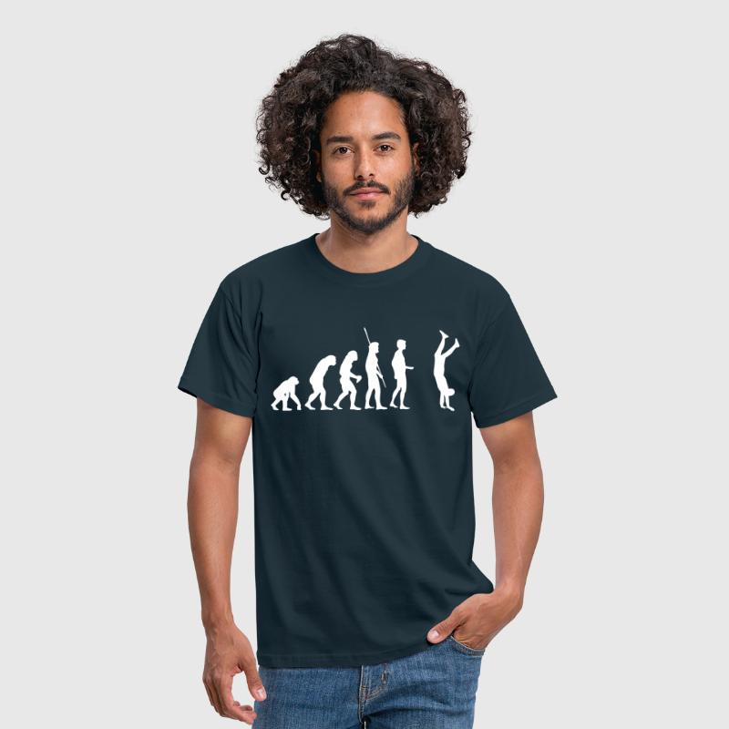 Evolution Handstand  - Men's T-Shirt