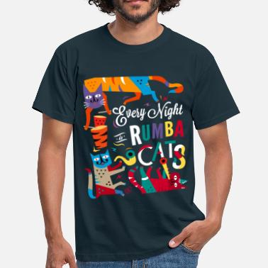 Musiciens Chats musiciens - Rumba salsa mambo - T-shirt Homme