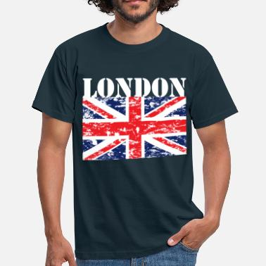 Angleterre LONDON - GB - UNION JACK - T-shirt Homme