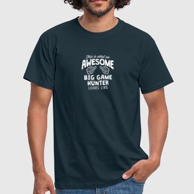 Big Game awesome big game  looks like - Men's T-Shirt