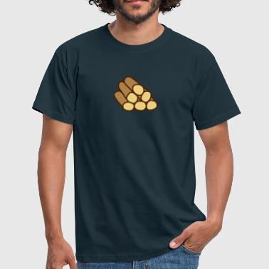 Wood - Men's T-Shirt