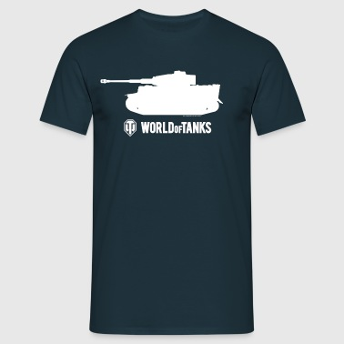 WOT Male T-Shirt - T-skjorte for menn