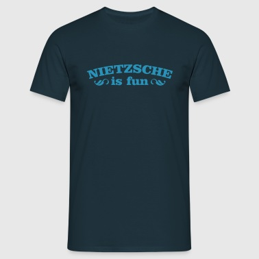 Nietzsche is fun - T-shirt Homme