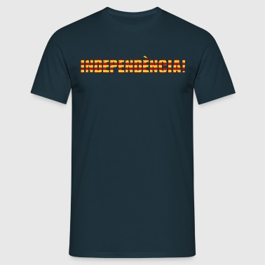 Catalonia independence - Men's T-Shirt