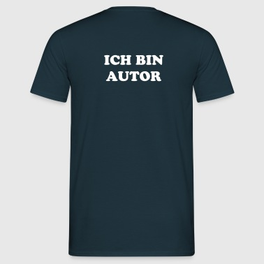 Brot&Kunst Verlagsshirt. Autorenedition. - Men's T-Shirt