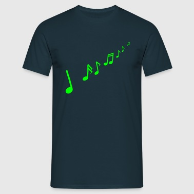 Musical notes - T-shirt Homme