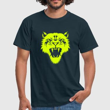 lion animal sauvage lionne tribal 1106 - T-shirt Homme