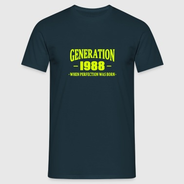 Generation 1988 - T-shirt herr
