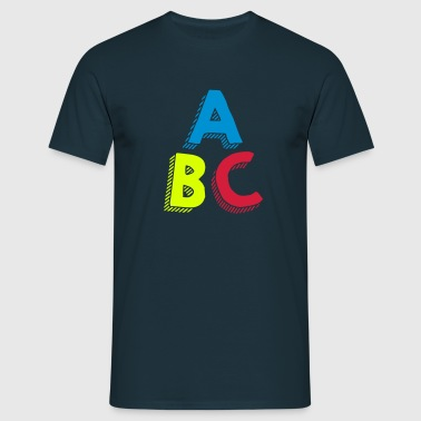 ABC - T-shirt Homme