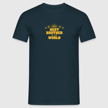 best brother in the world stars - Men's T-Shirt