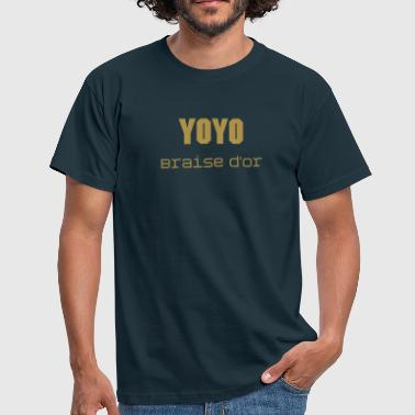 Braise d'or - T-shirt Homme