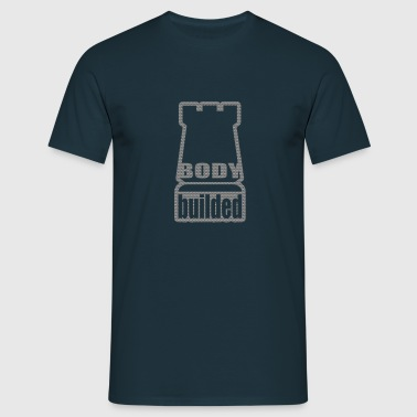 body builded - Men's T-Shirt