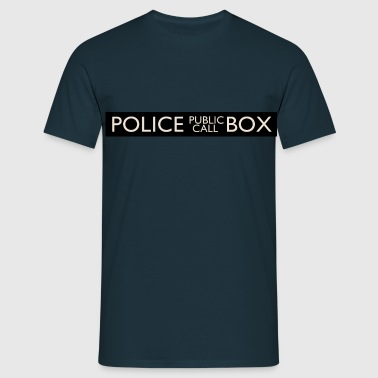 Police Public Call Box - T-shirt Homme