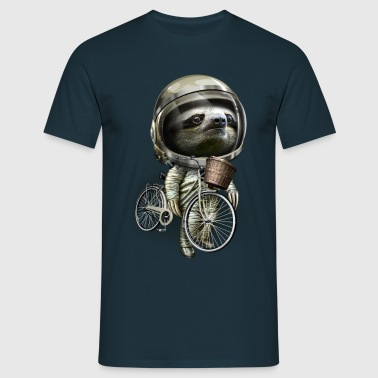 WITH MY BIKE ALONG - Men's T-Shirt