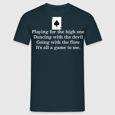 ace of spades lyrics #1 - Mannen T-shirt