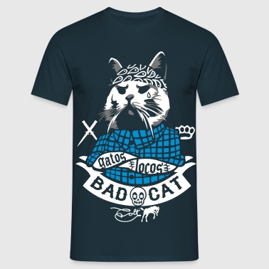 Bad Cat - Gatos Locos - Men's T-Shirt