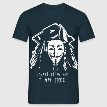 anonymous jack - T-shirt Homme