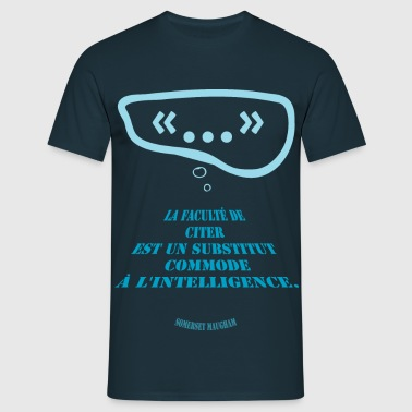 citation sur les citation - T-shirt Homme
