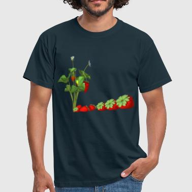 strawberries - Men's T-Shirt