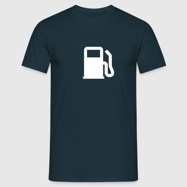 Tanksäule | Gas station - Mannen T-shirt