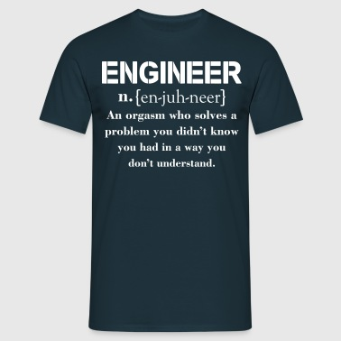 Engineer Definition Funny T-shirt - Men's T-Shirt