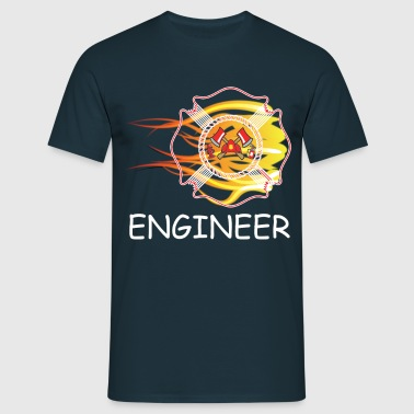 FIRE DEPARTMENT ENGINEER - Men's T-Shirt