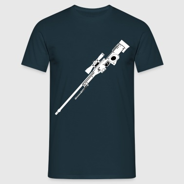 AWP Rifle Black - Männer T-Shirt
