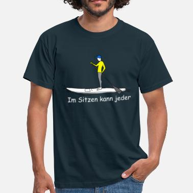 Sup Stand-Up-Paddeling SUP - Männer T-Shirt