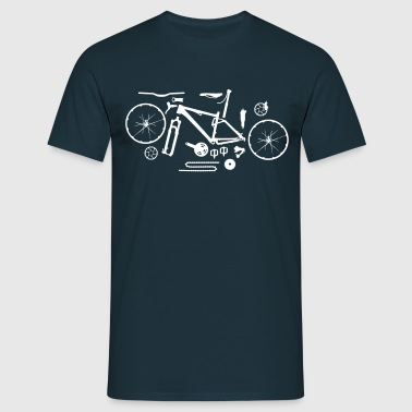 Mountainbike Kit - Männer T-Shirt