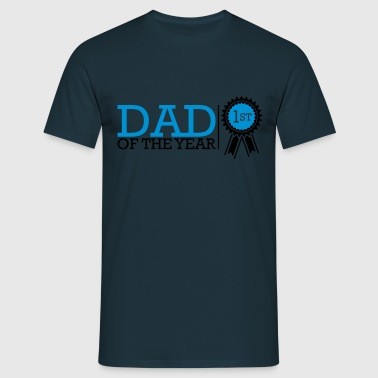 Dad Of The Year - Mannen T-shirt
