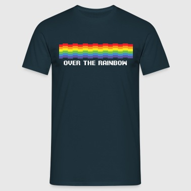Over the rainbow - Men's T-Shirt