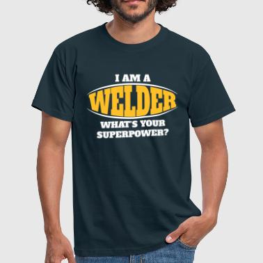 Welder Superpower - Men's T-Shirt