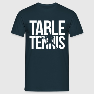 table tennis tafeltennis - Mannen T-shirt