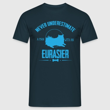 Dog Eurasier NUM - Men's T-Shirt