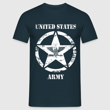 us vintage army star 03 - T-shirt Homme
